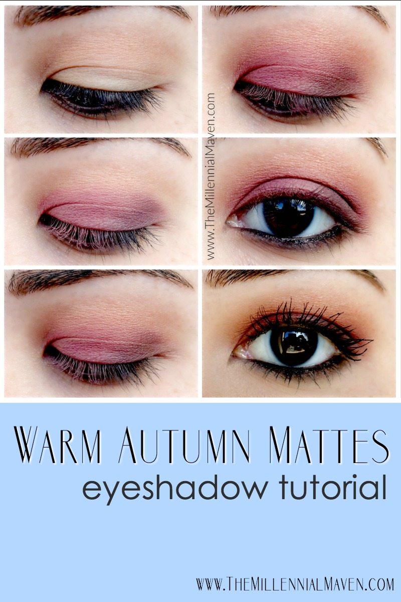"Fall Makeup Tutorial -- ""Warm Autumn Mattes"""