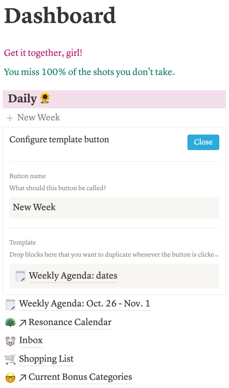 How To Plan Your Week with Notion 7