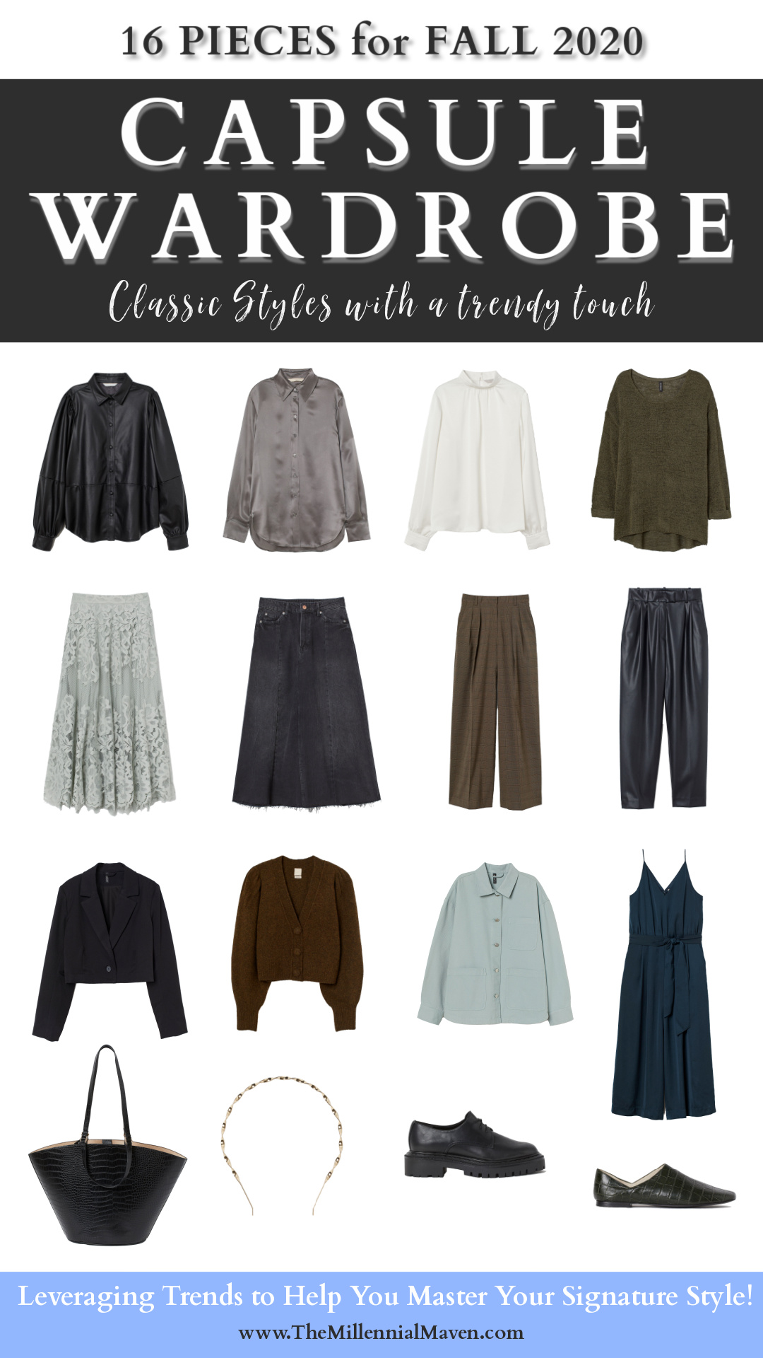 Fall Capsule Wardrobe 2020 2 Outfit Combinations