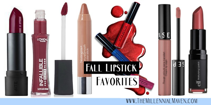 6 Lipsticks I'm LOVING This Fall (Best Fall Lipsticks)
