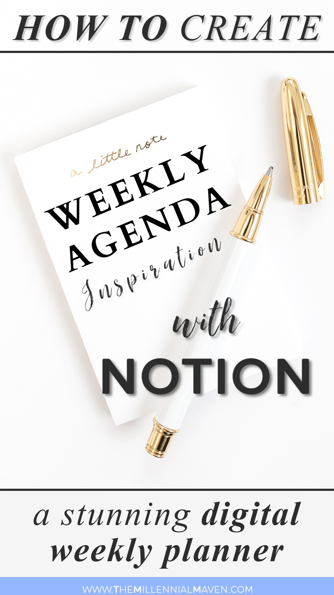 How To Plan Your Week with Notion Pin 3