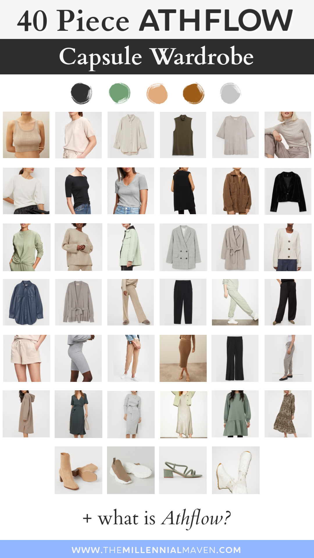 "ATHFLOW is where ""Athleisure"" meets ""Work Flow."" Soft outfits that keep you productive & comfy at the same time. 